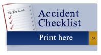 Accident checklist prepared by Austin lawyers